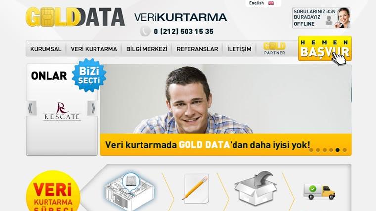 Ömür TEŞİ - Golddata Veri Kurtarma